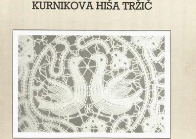 1992 Idrijska čipka vabilo 3a