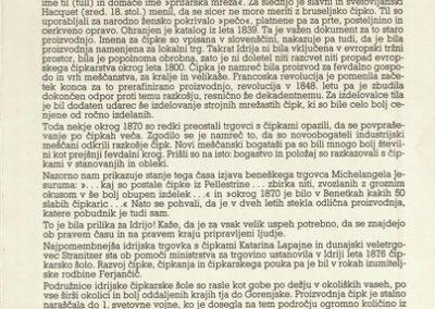 1992 Idrijska čipka vabilo 3c