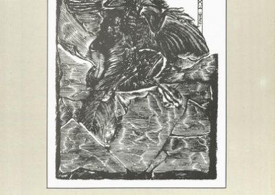 1992 Mednarodna razstava geoloških in rudarskih ekslibrisov vabilo 3a