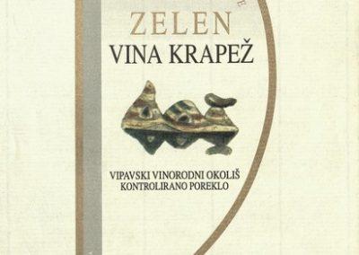 1995 Martinovo z Vinarstvom Krapež Vrhpolje vabilo 3d