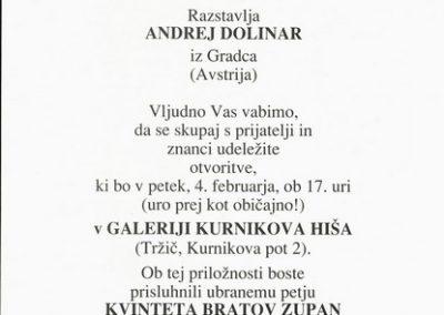 Dolinar Andrej 1994 Umetnikove podobe vabilo 3b
